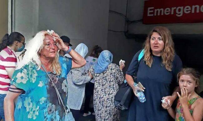 Beirut feriti