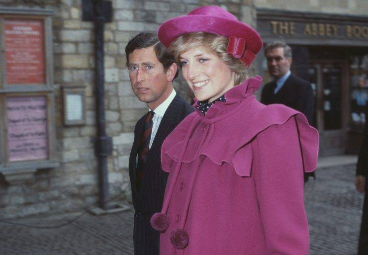 Lady Diana Spencer Principessa del Galles e Carlo d'Inghilterra
