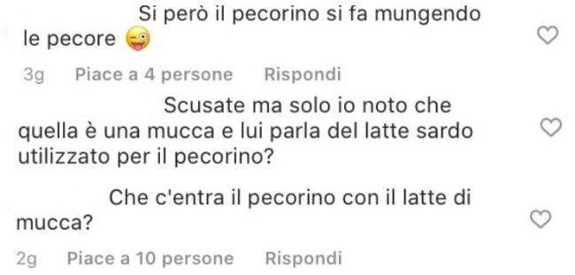 Gianni Sperti gaffe