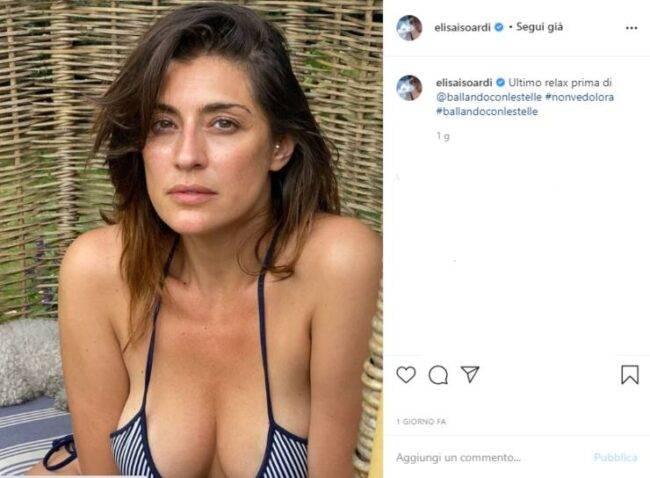 Elisa Isoardi post