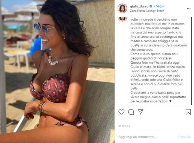 Giulia d'Urso Instagram
