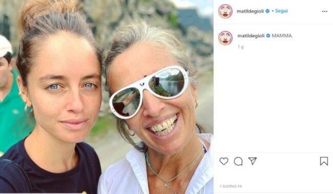 Matilde Gioli mamma