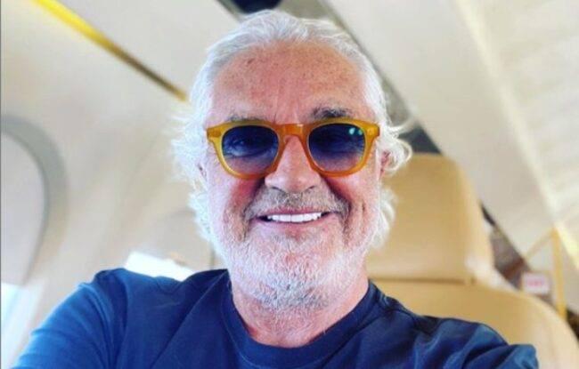 Flavio Briatore positivo