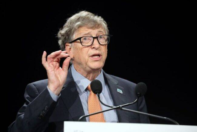 Bill Gates lutto