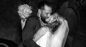 Martin Castrogiovanni e la moglie