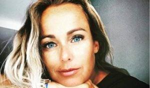Sonia Bruganelli inquietante