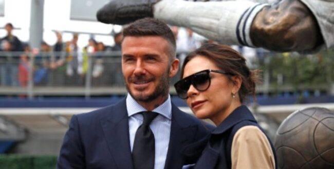 David Beckham e Victoria Coronavieus