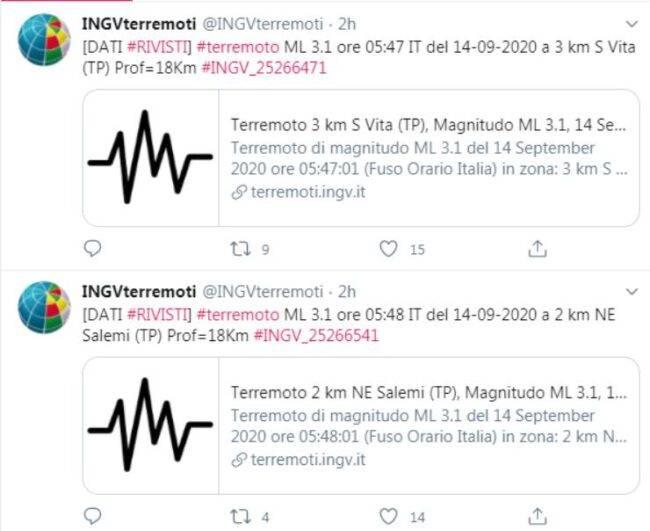 scosse di terremoto