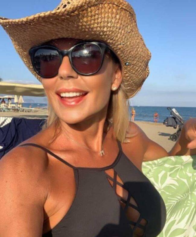 Matilde Brandi ex compagno