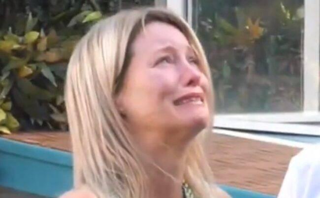GF Vip Flavia Vento lacrime
