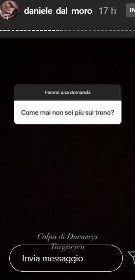 """Uomini e Donne, l'ex tronista non ci sta: """"Sono sincero non presuntuoso"""" (instagram)"""