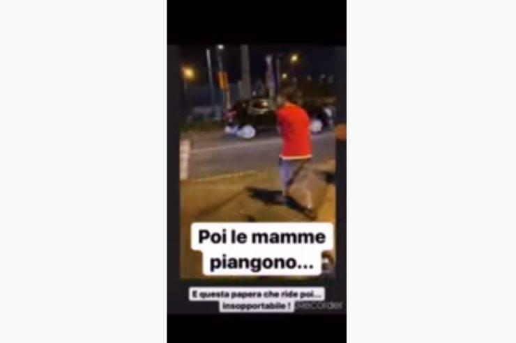 Napoli, bravata nella notte: il video diventa virale in poche ore