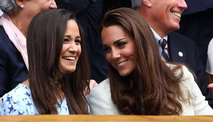 Royals Pippa e Kate Middleton