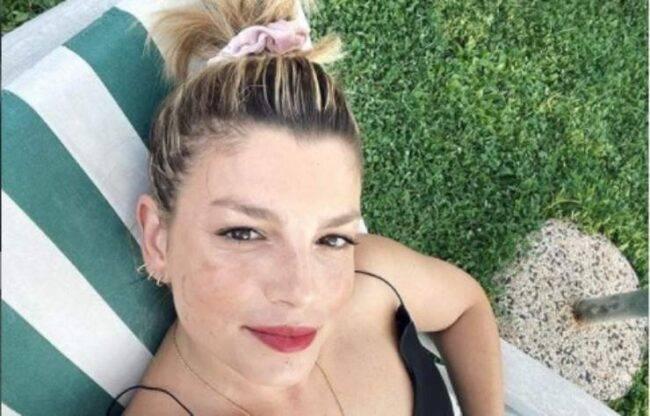 Emma Marrone irriconoscibile