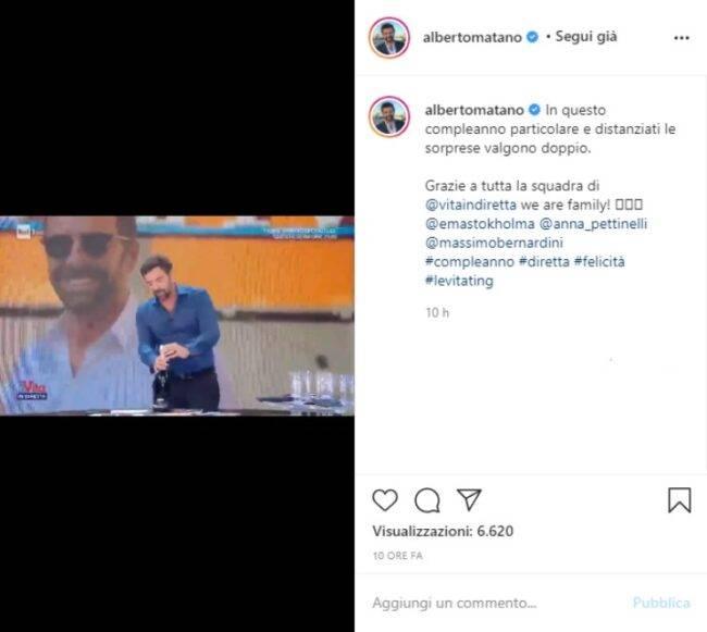 Alberto Matano video