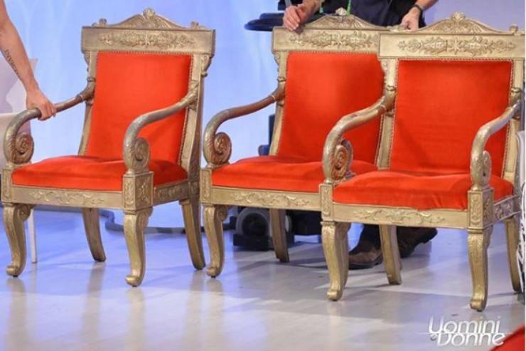 Uomini e Donne, gran caos in studio: Maria De Filippi costretta a intervenire
