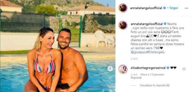 Anna Tatangelo piscina