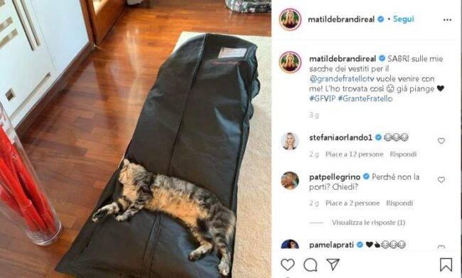 Matilde Brandi partenza