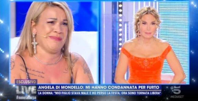 Live non è la D'Urso, Angela da Mondello rivela i suoi problemi con la giustizia: il racconto da brividi sul figlio morto