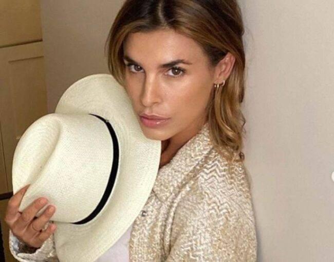 "Elisabetta Canalis si mostra sui social indignata : "" Vergognoso"""