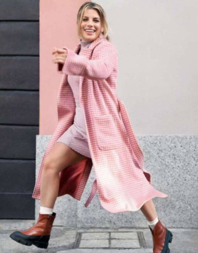Emma Marrone total pink