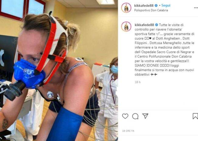 Federica Pellegrini dopo il Coronavirus