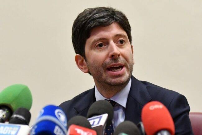 Ministro Speranza Governo