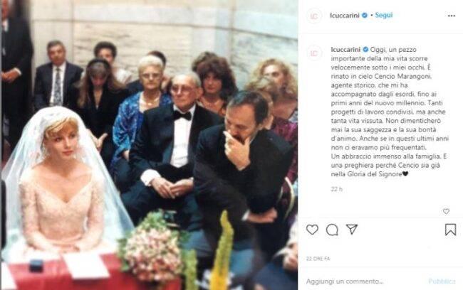 Lorella Cuccarini perdita
