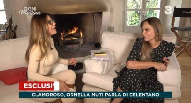 """Ornella Muti parla del tradimento con Adriano Celentano: """"Con la moglie si sentiva solo perchè..."""", clamorosa confessione"""