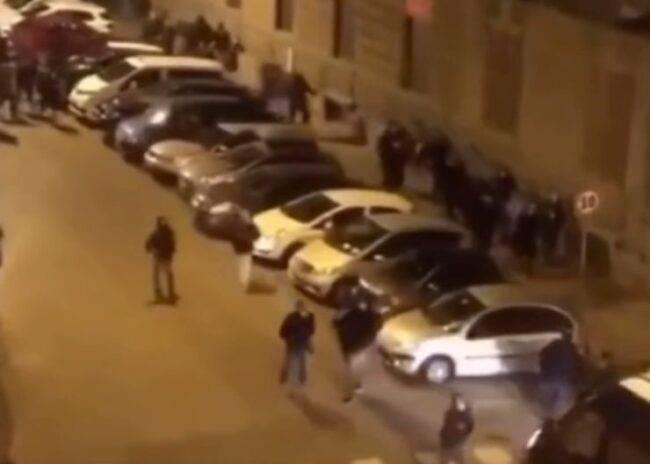 Grida terrore Napoli