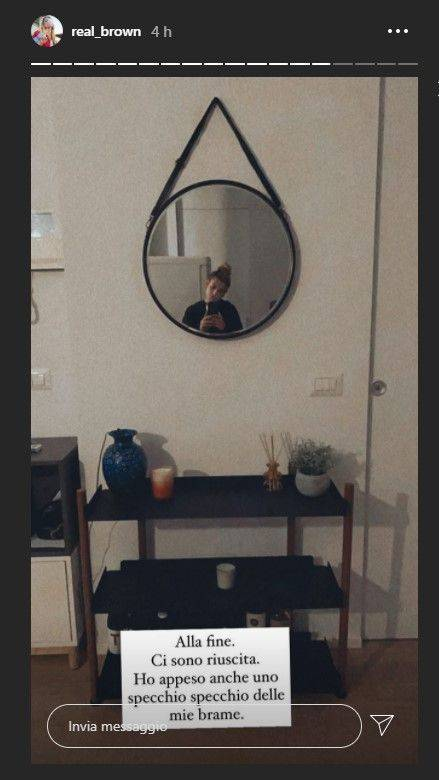 Emma Marrone specchi