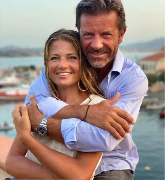 Paolo Conticini moglie