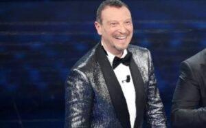 Sanremo Amadeus splendida notizia