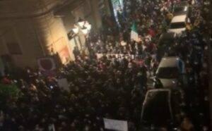 Covid protesta video