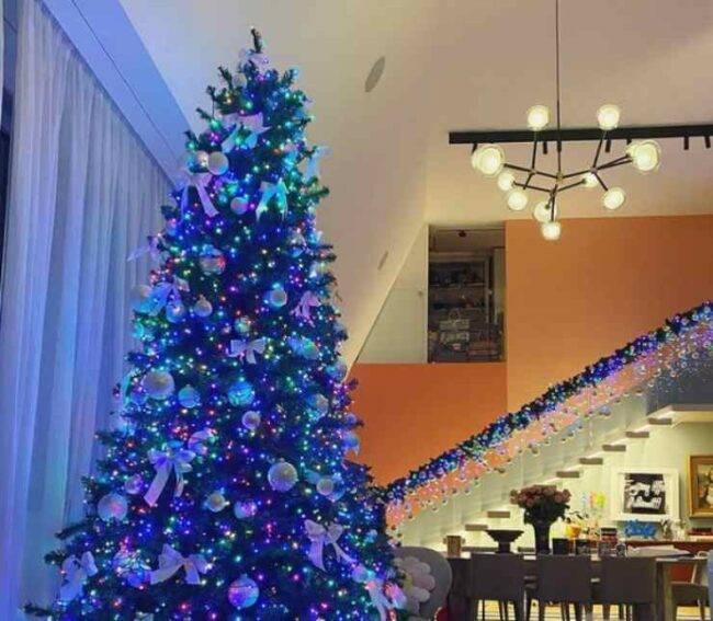 Chiara Ferragni addobbi Natale