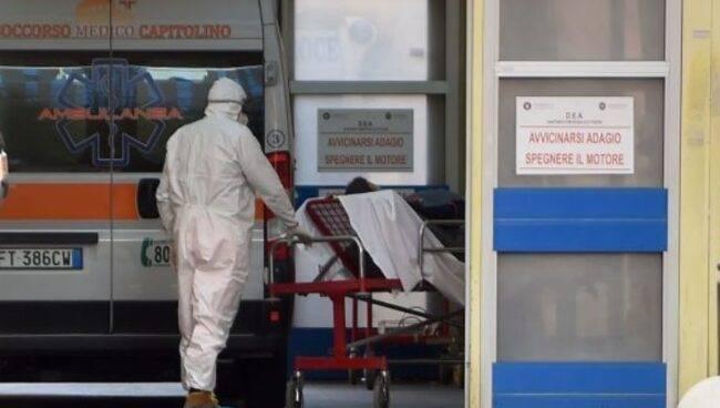 coronavirus morto Cardarelli