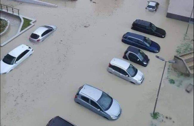 Crotone alluvione