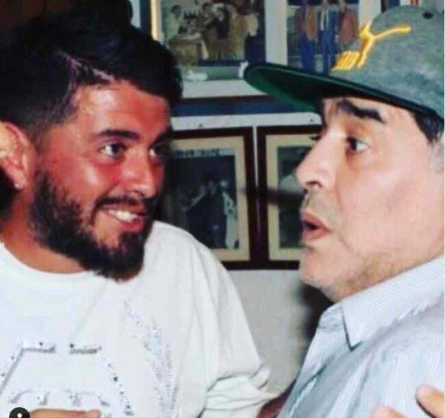 Diego Armando Maradona jr Diego Armando Maradona