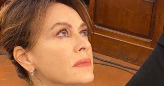 Elena Sofia Ricci tristissimo lutto