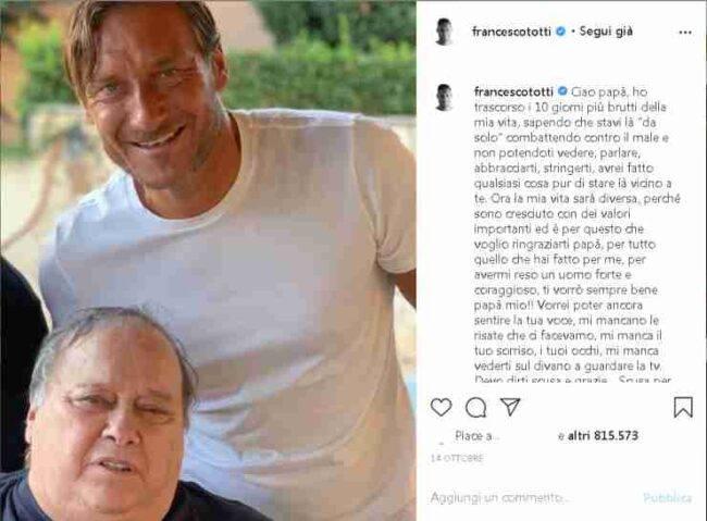 Francesco Totti Verissimo