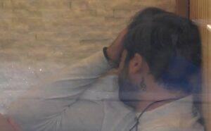 Pierpaolo Pretelli lacrime