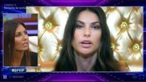 GF Vip Dayane critica Elisabetta