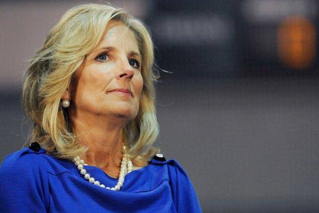 Jill Biden messina