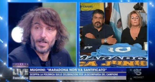 """'Live', il fratello di Maradona non ci sta: """"basta critiche"""", il duro sfogo"""