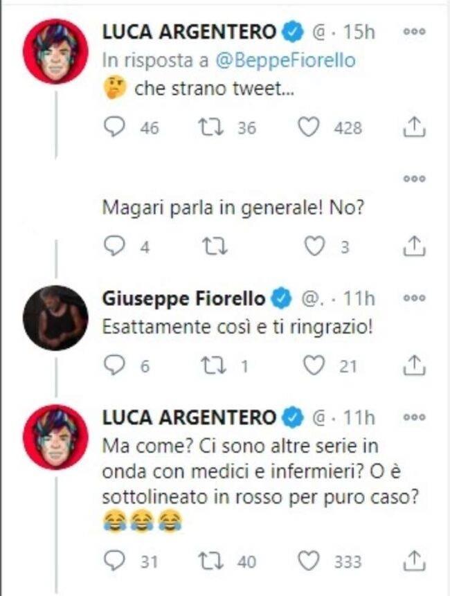 Luca Argentero Fiorello