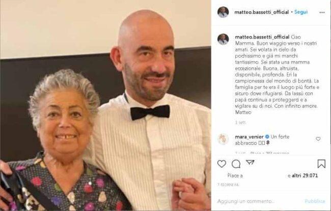 Matteo Bassetti Domenica In lacrime
