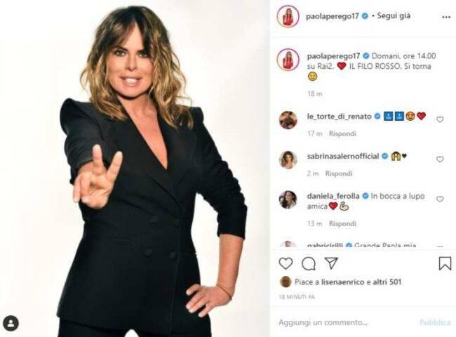 Paola Perego notizia