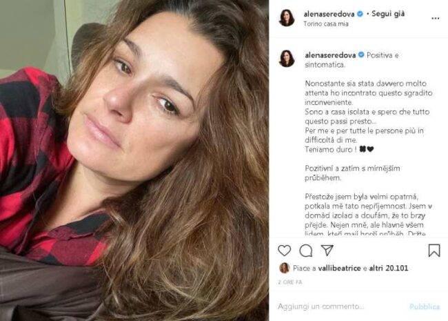 Alena Seredova positiva