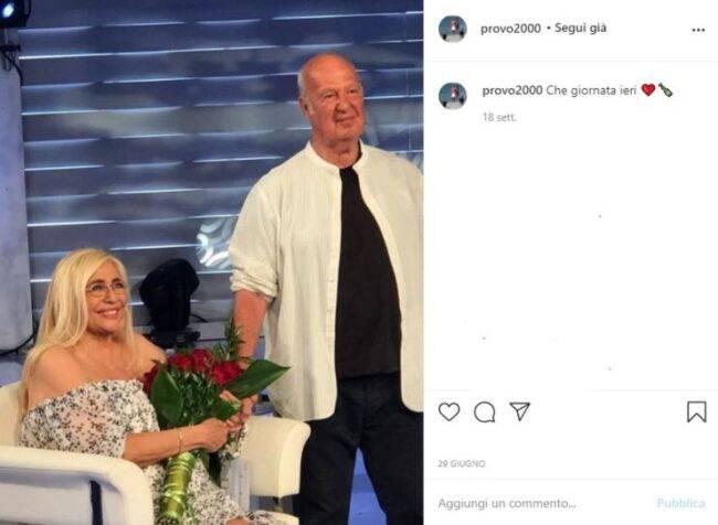 Nicola Carraro Mara Venier