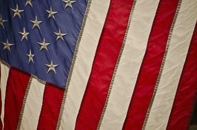 Elezioni Usa bandiera